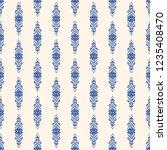 seamless decorative vector... | Shutterstock .eps vector #1235408470