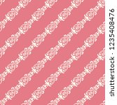 seamless decorative vector... | Shutterstock .eps vector #1235408476