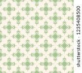 seamless decorative vector... | Shutterstock .eps vector #1235408500