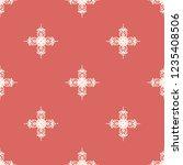 seamless decorative vector... | Shutterstock .eps vector #1235408506