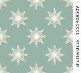 seamless decorative vector... | Shutterstock .eps vector #1235408509