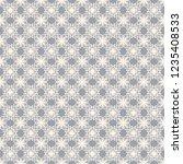 seamless decorative vector... | Shutterstock .eps vector #1235408533