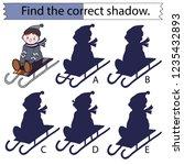 educational game for children....   Shutterstock .eps vector #1235432893