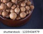 lovely shimeji mushroom   food...   Shutterstock . vector #1235436979