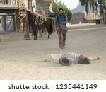 tabernas  almeria spain   08 15 ...   Shutterstock . vector #1235441149