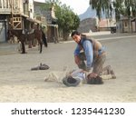 tabernas  almeria spain   08 15 ...   Shutterstock . vector #1235441230
