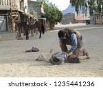 tabernas  almeria spain   08 15 ...   Shutterstock . vector #1235441236