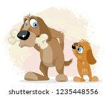 vector illustration of a greedy ...   Shutterstock .eps vector #1235448556