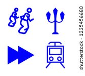 movement icon set about sack...   Shutterstock .eps vector #1235456680