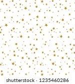 christmas texture modern... | Shutterstock . vector #1235460286