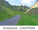 winnats pass in the peak... | Shutterstock . vector #1235479690