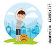 kid good habits    Shutterstock .eps vector #1235536789