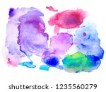 colorful abstract vector... | Shutterstock .eps vector #1235560279