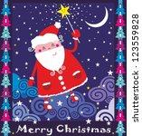santa | Shutterstock .eps vector #123559828