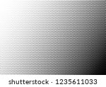 halftone dots background.... | Shutterstock .eps vector #1235611033