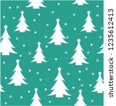 christmas  new year pattern | Shutterstock .eps vector #1235612413