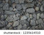 gabion protective wall | Shutterstock . vector #1235614510