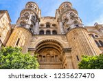 architectural fragments of... | Shutterstock . vector #1235627470