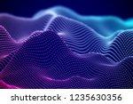 abstract digital landscape or...   Shutterstock .eps vector #1235630356