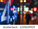 display stock market data   Shutterstock . vector #1235639929