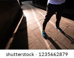young fashionable guy is... | Shutterstock . vector #1235662879