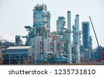 solarized picture of an oil...   Shutterstock . vector #1235731810