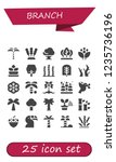vector icons pack of 25 filled... | Shutterstock .eps vector #1235736196