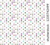 abstract seamless pattern... | Shutterstock . vector #1235742499