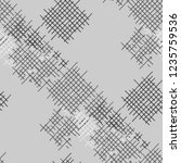 grunge seamless lattice.... | Shutterstock .eps vector #1235759536