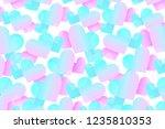 tender vector pattern with... | Shutterstock .eps vector #1235810353