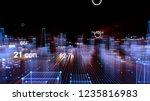 3d rendering abstract... | Shutterstock . vector #1235816983