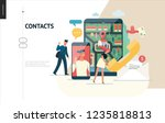 business series  color 1  ... | Shutterstock .eps vector #1235818813