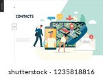 business series  color 1  ... | Shutterstock .eps vector #1235818816