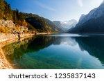amazing autumn view on vorderer ... | Shutterstock . vector #1235837143