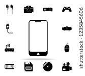 smart phone icon. technology... | Shutterstock . vector #1235845606