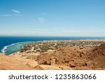 view from height on dahab town... | Shutterstock . vector #1235863066