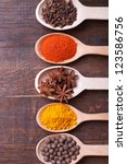 spices | Shutterstock . vector #123586756