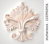 3d rendering beautiful marble...   Shutterstock . vector #1235903926