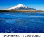 mt fuji  in the early morning....   Shutterstock . vector #1235910880
