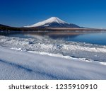 mt fuji  in the early morning.... | Shutterstock . vector #1235910910