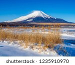 mt fuji  in the early morning....   Shutterstock . vector #1235910970