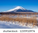 mt fuji  in the early morning....   Shutterstock . vector #1235910976