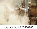 geyser pipe 02   Shutterstock . vector #123594289