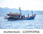 koh tao surathani thailand  ... | Shutterstock . vector #1235953906
