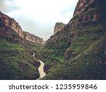 beautiful rivers between... | Shutterstock . vector #1235959846