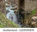 beautiful rivers between... | Shutterstock . vector #1235959870