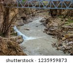 beautiful rivers between... | Shutterstock . vector #1235959873
