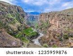 beautiful rivers between... | Shutterstock . vector #1235959876