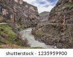 beautiful rivers between... | Shutterstock . vector #1235959900