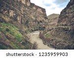 beautiful rivers between... | Shutterstock . vector #1235959903